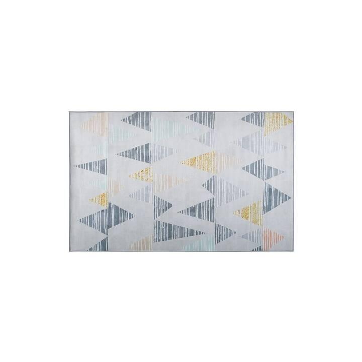 BELIANI Teppich Yayla (140 cm x 200 cm, Mehrfarbig)