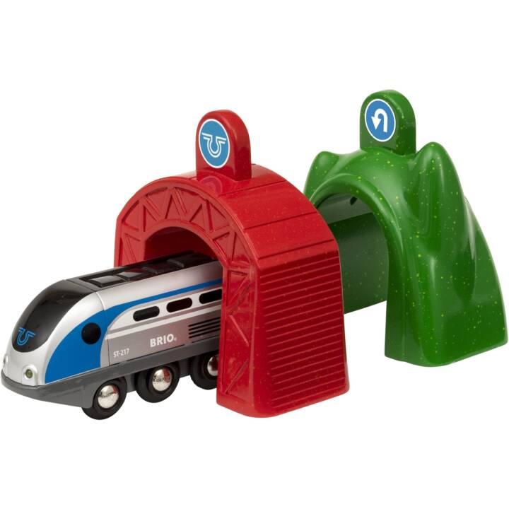 BRIO Smart Tech Zug mit Actiontunnels