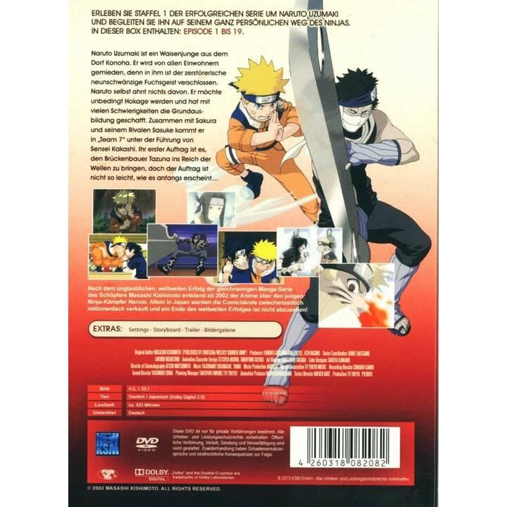 Naruto Stagione 1 (DE, JA)