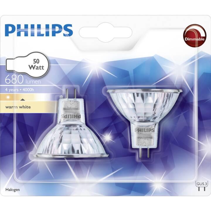 PHILIPS Halogen 50 W G5.3 Duo