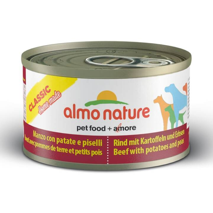 ALMO NATURE Cuisine Alimentation humide (95 g, Adulte)