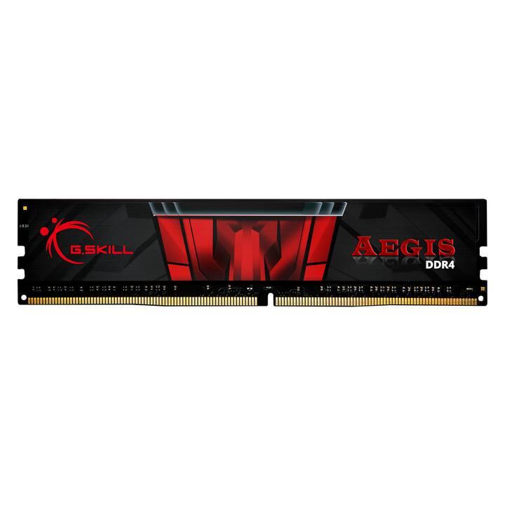 G.SKILL Aegis  (1 x 8 GB, DDR4, DIMM 288-Pin)