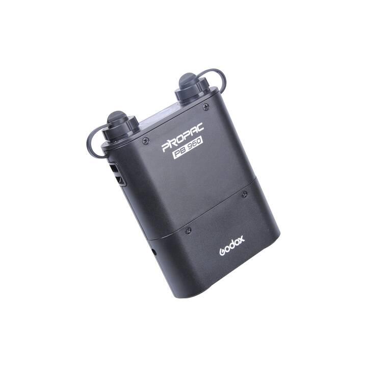 GODOX PB960 Blitzakku (Schwarz, 133 x 159 mm)
