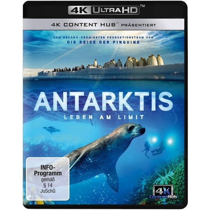 Antarktis - Leben am Limit (4K Ultra HD, DE, EN)