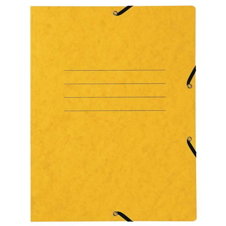 Cartella elastica BIELLA A4 giallo