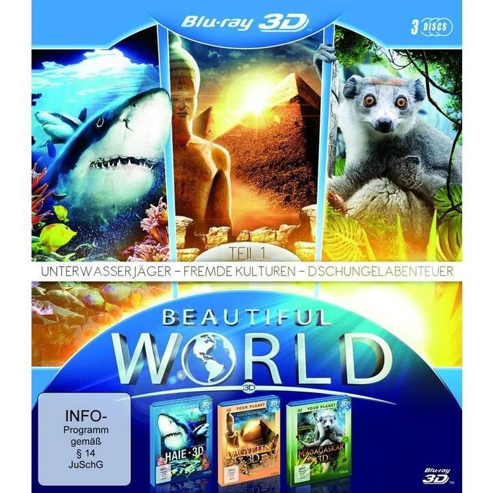 Beautiful World in - Unterwasserjäger / Fremde Kulturen / Dschungelabenteuer (ES, DE, EN, FR)