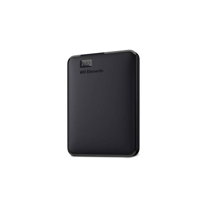 WD Elements Portable (USB 3.0, 2 TB, Nero)