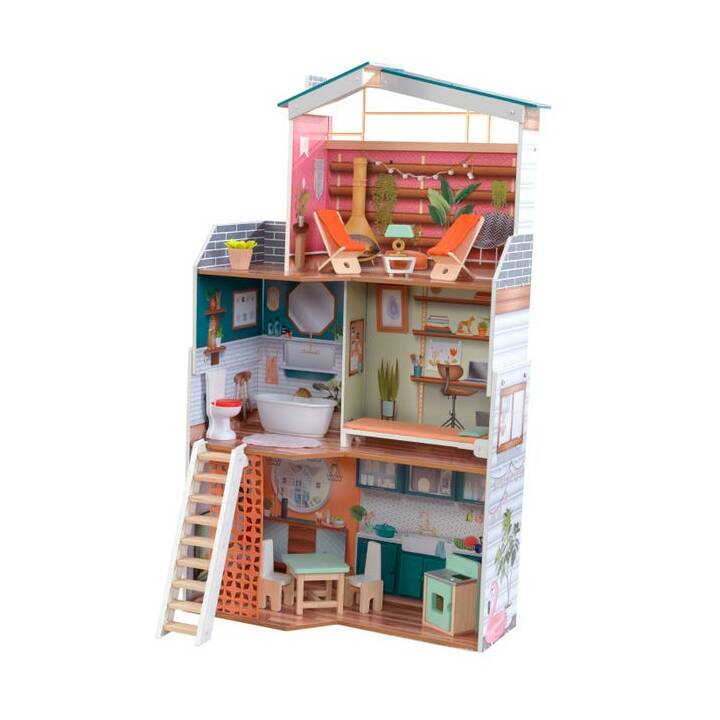 KIDKRAFT Marlow Maison de poupée (Multicolore)