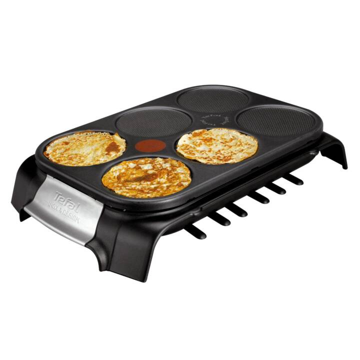 TEFAL Crêpe Party Inox & Design Crêpe-Gerät