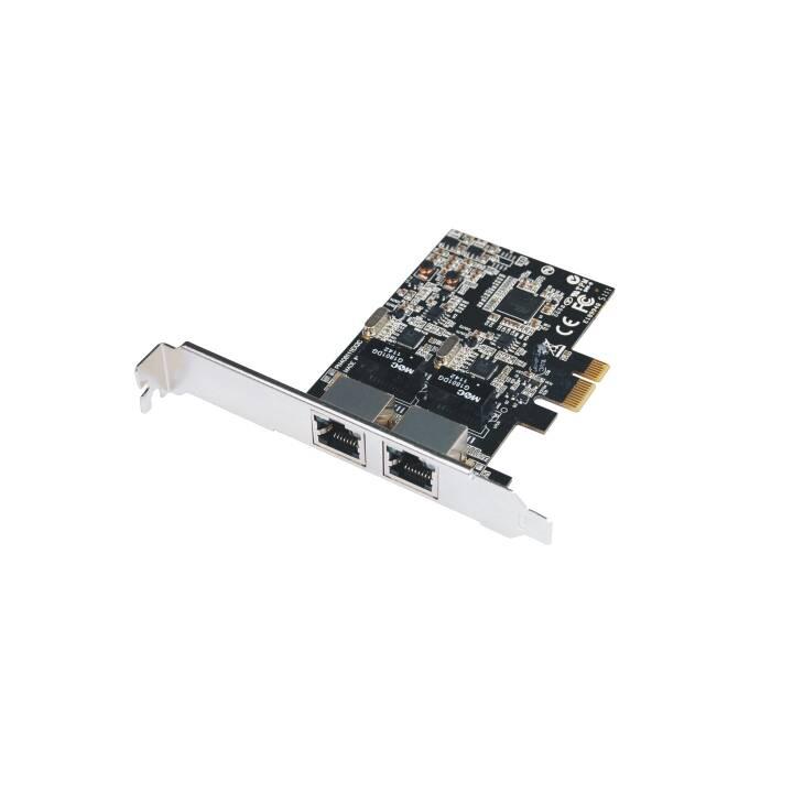 MHE Adaptateur réseau (PCI Express, RJ-45)