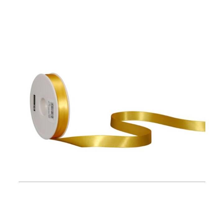 SPYK Nastri regalo (16 mm x 25 m, Giallo, Unicolore)