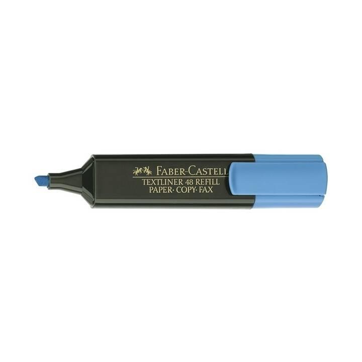 FABER-CASTELL TEXTLINER 48 1-5mm bleu