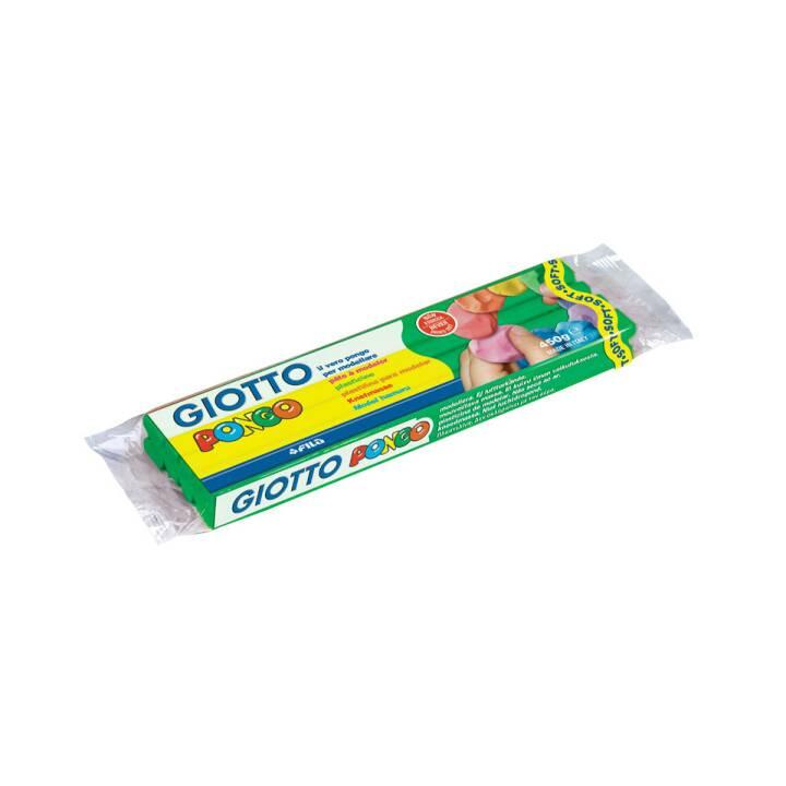 GIOTTO Pongo Pongo Terre à modeler douce, vert foncé, 450 g