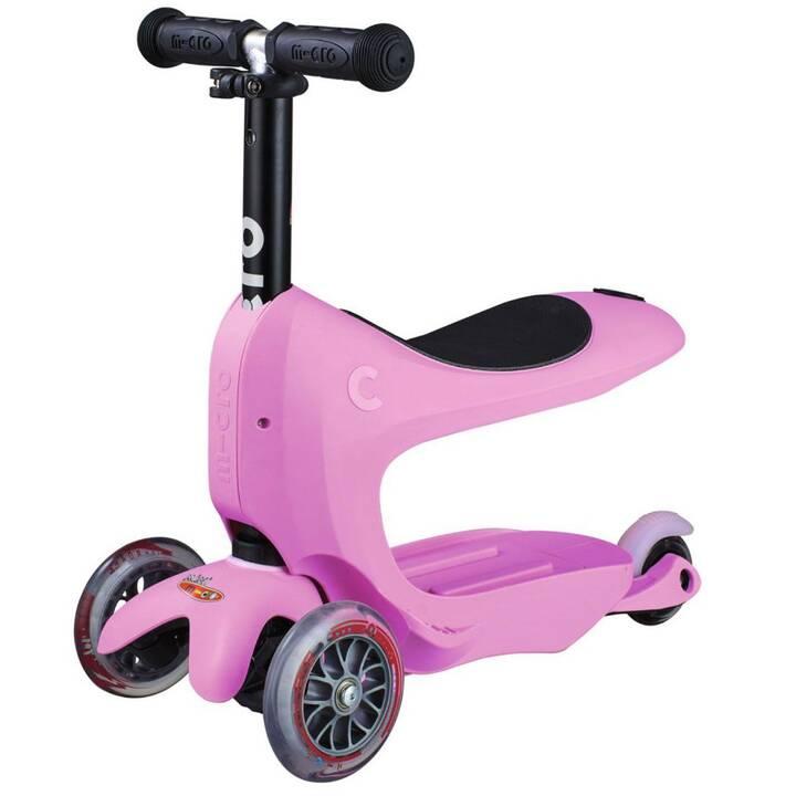 MICRO Kickboard Mini2go Deluxe Plus (Pink, Noir)