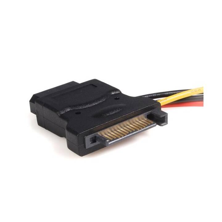 StarTech.com SATA/LP4 Stromadapter mit 2 zusätzlichen LP4