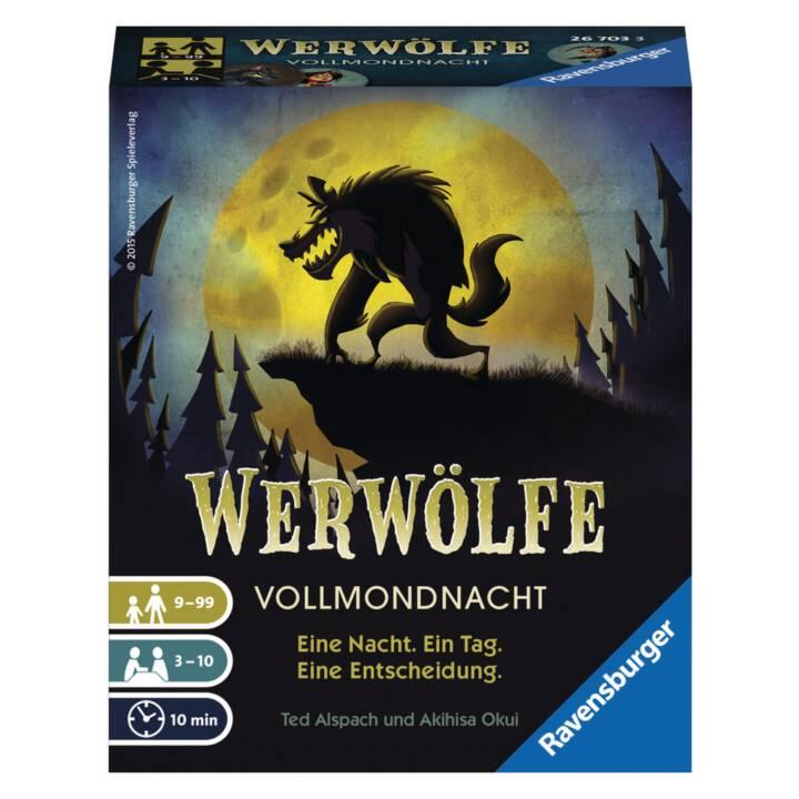 RAVENSBURGER Kartenspiel Werwölfe Vollmondnacht
