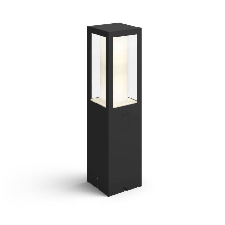 PHILIPS HUE Bornes lumineuses HUE Impress Extension (LED incorporé, 16 W, Noir)