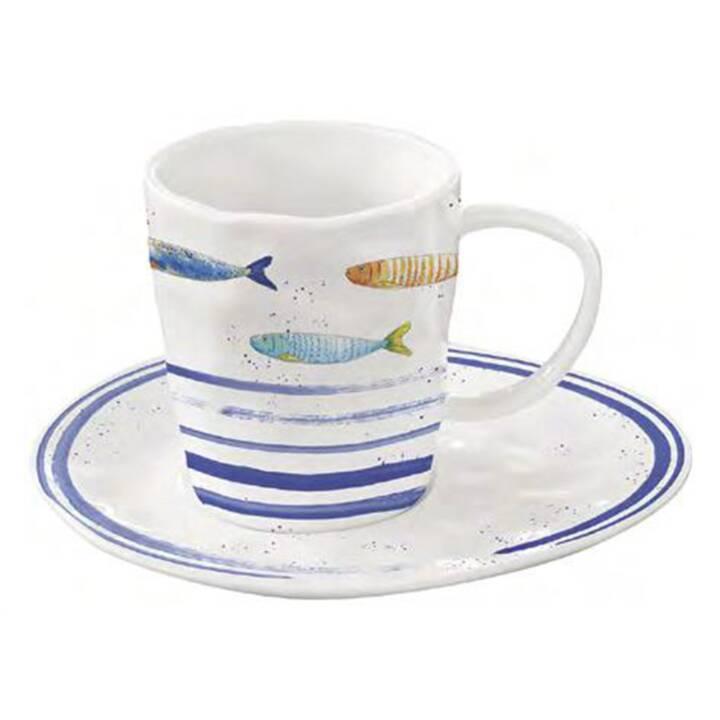 EASY LIFE Tasse à café Bord de Mer (250 ml)