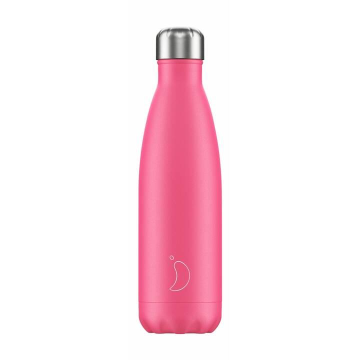 CHILLY'S Borraccia Neon (0.5 l, Pink)