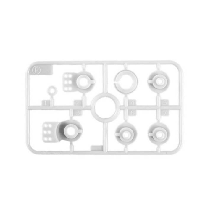 TAMIYA P-Parts Composants (Blanc)