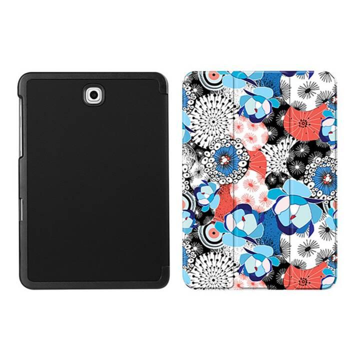 "EG MTT Custodia tablet per Samsung Galaxy Tab S2 8"" - White Flower"