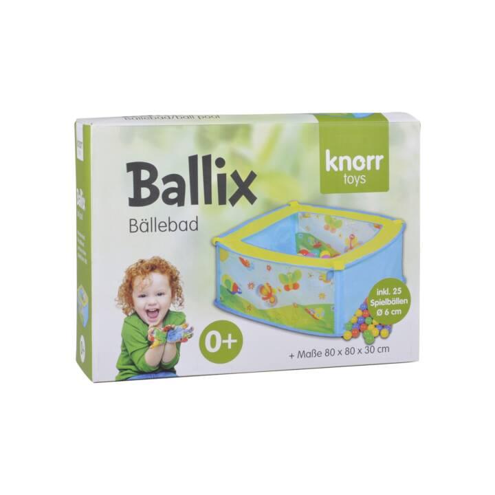 KNORRTOYS Bällebad Ballix inkl. 25 bunte Bälle