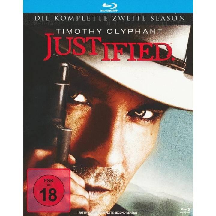 Justified Saison 2 (ES, IT, DE, EN, FR)