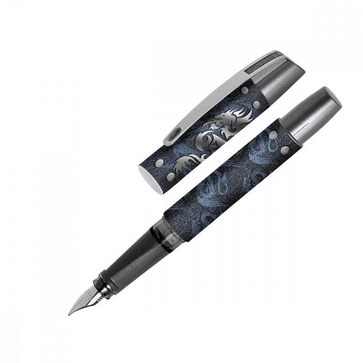 ONLINE Campus II Penne stilografice (Nero, Blu, Argento)