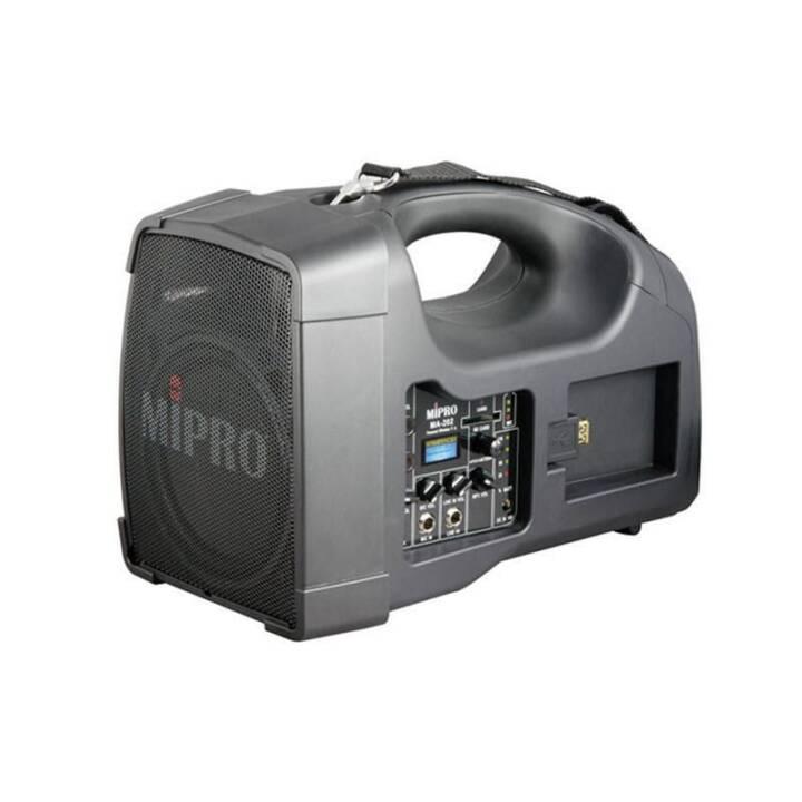 MIPRO ELECTRONICS MA-202 (Enceinte compacte, Noir)