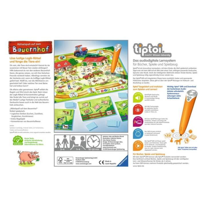 TIPTOI divertimento puzzle sulla fattoria di apprendimento del gioco, DE