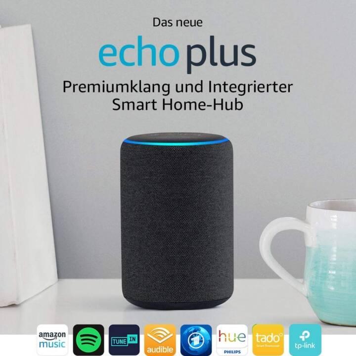 AMAZON Echo Plus, 2ème génération, anthracite, importation