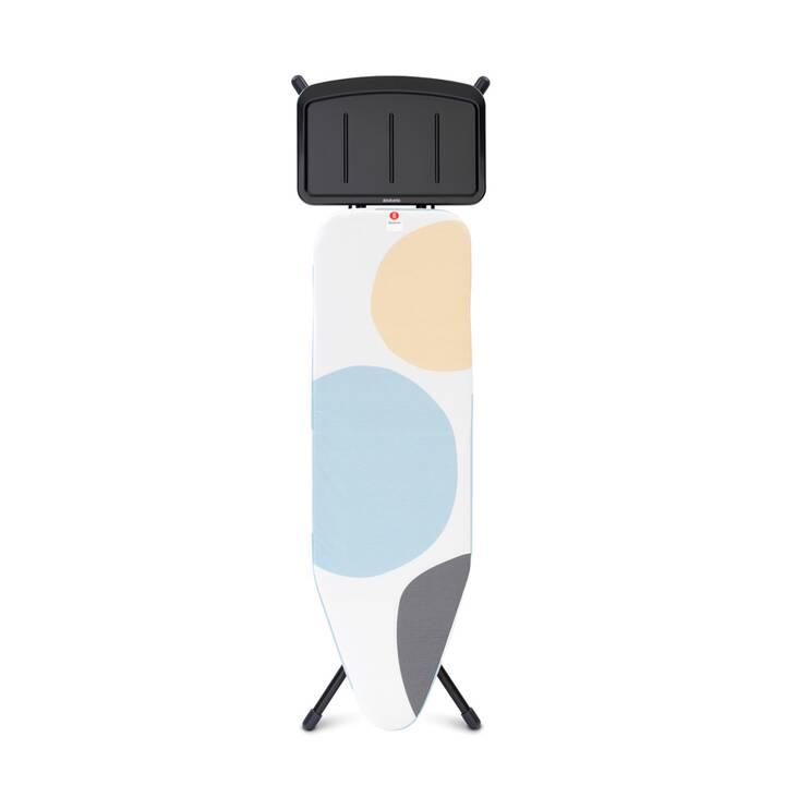 BRABANTIA Perfect Flow Planche à repasser (485 mm x 70 mm, 1 pièce)