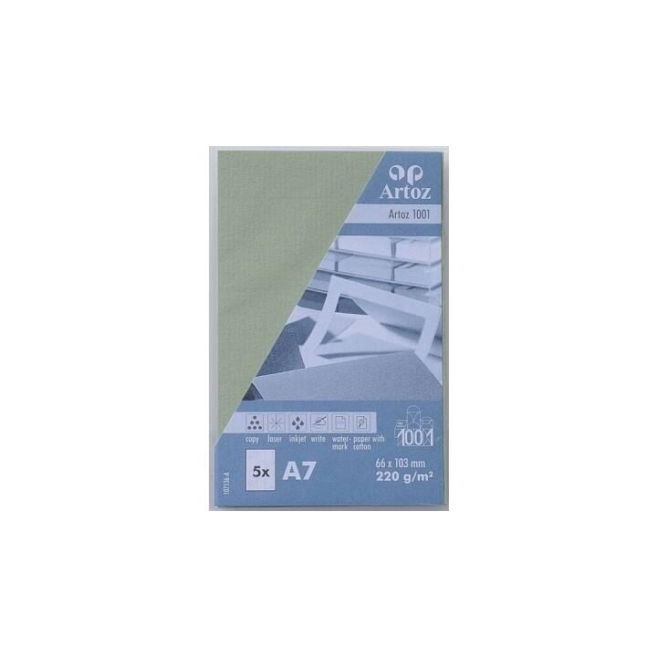 ARTOZ Visitenkarten 1001 A7 Linde - 5 Stück