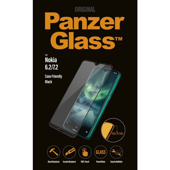 PANZERGLASS Displayschutzfolie (Nokia 6.2, Nokia 7.2)
