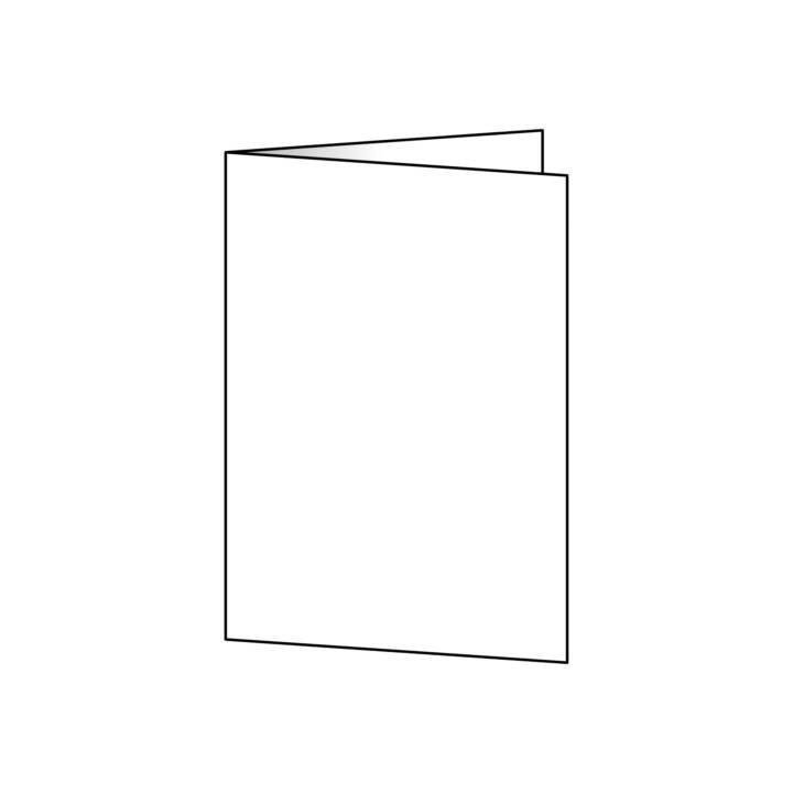 SIGEL Faltkarte Blanko A6 - 50 Stück