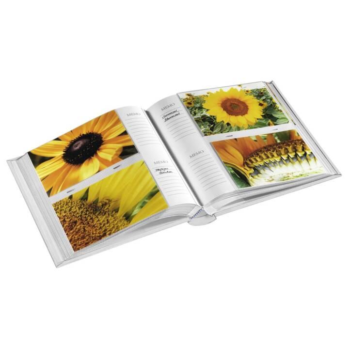 """HAMA memo album """"Blossom"""", per 200 foto in formato 10x15 cm, bianco"""