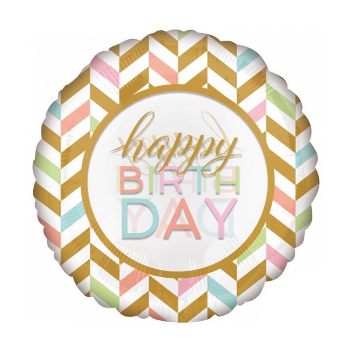 RIETHMÜLLER Ballon  Happy Birthday (5 pièce)