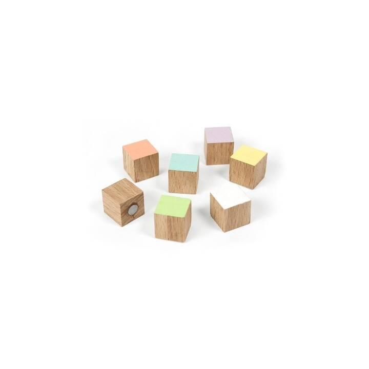 TRENDFORM Magnete Timber 7er-Set assortiert