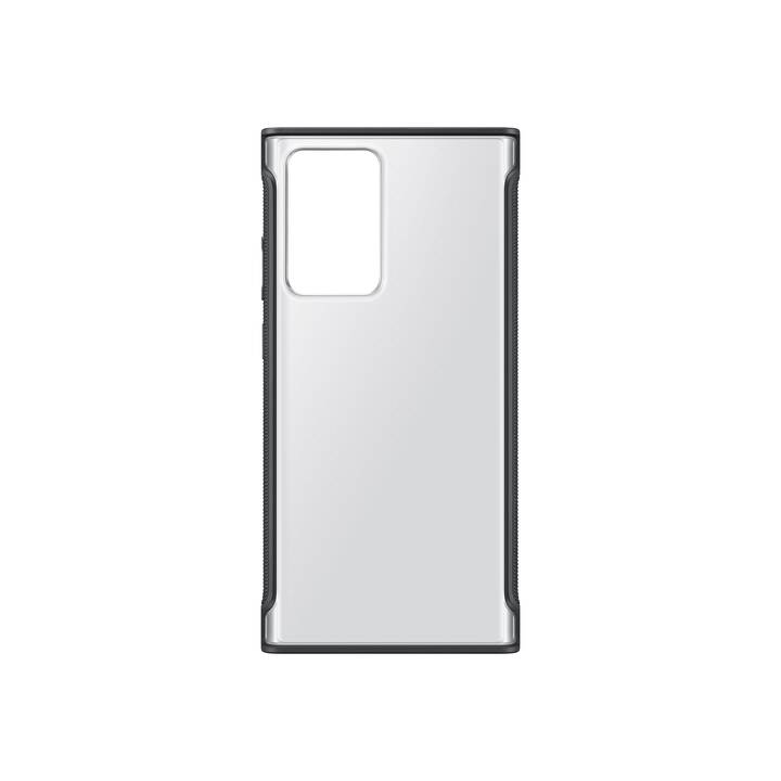 SAMSUNG Backcover Clear (Galaxy Note 20 Ultra, Galaxy Note 20 Ultra 5G, Transparent, Schwarz)