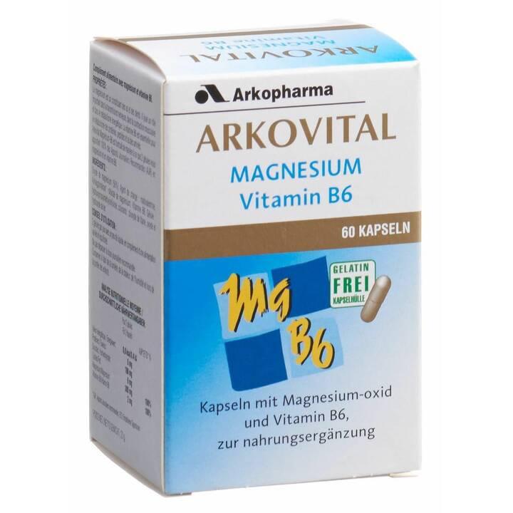 ARKOPHARMA Arkovital Magnesium + Vitamin B6 (60 Stück)