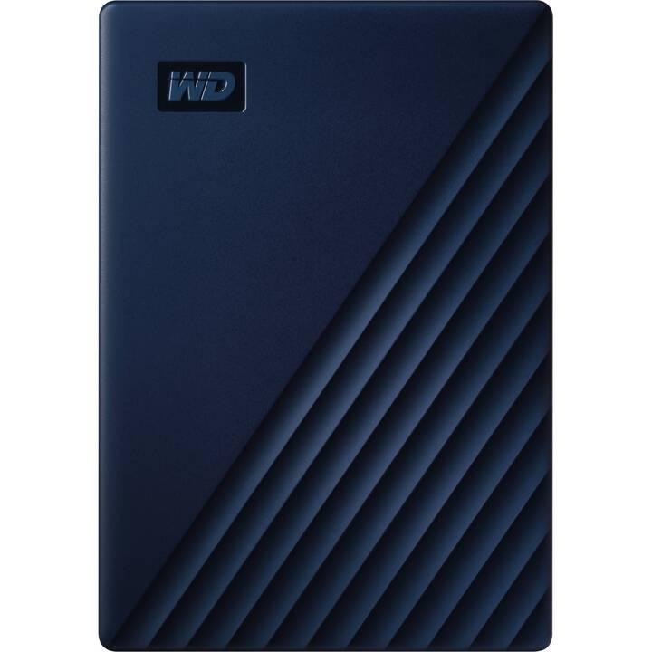 WD My Passport for Mac (USB 3.0, 5 TB, Blu)