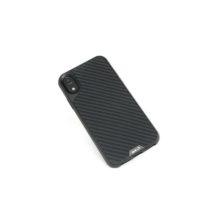 MOUS Hardcase Carbon Fibre (iPhone XR, Nero)