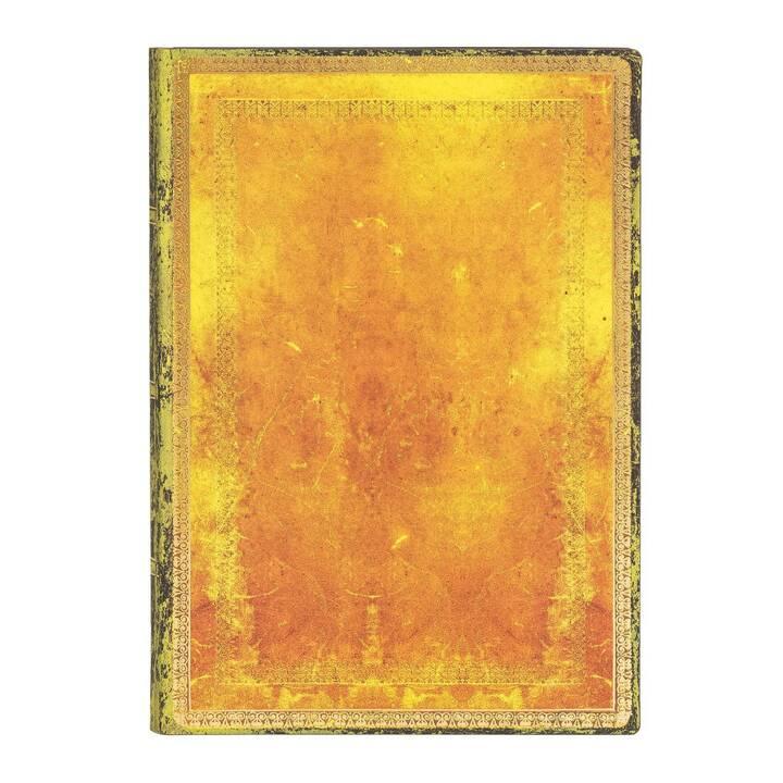 PAPERBLANKS Taccuini Ocker  (A5, In bianco)