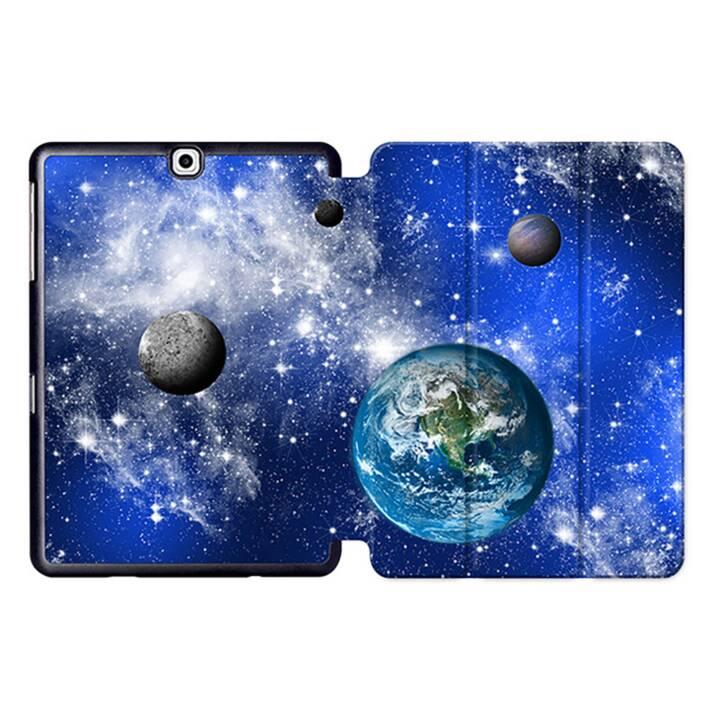 """EG MTT Tablet Tasche mit Smart faltbare Abdeckung für Samsung Galaxy Tab S2 9.7 """"- Universum"""