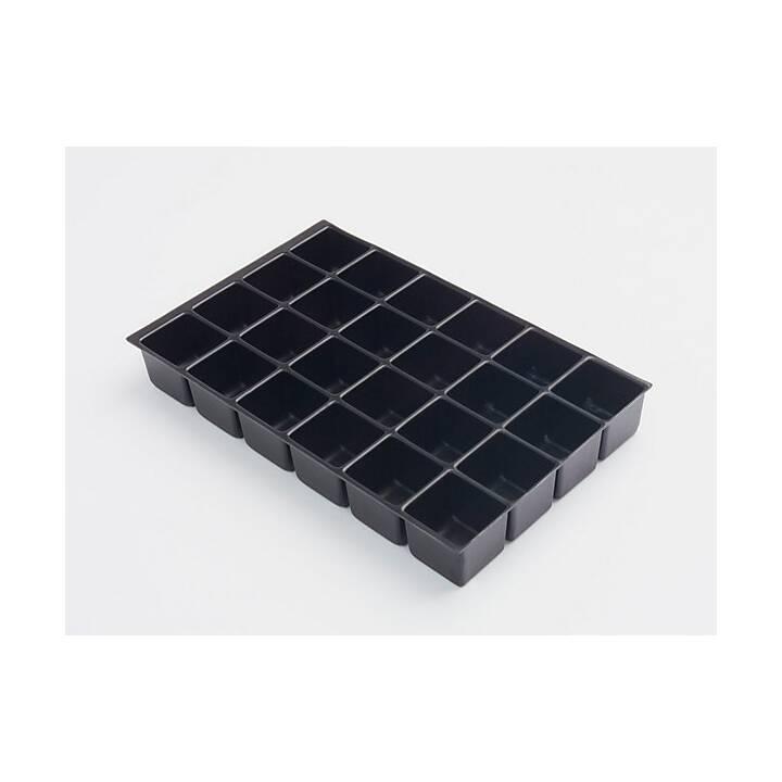 BISLEY MultiDrawer Ablagebox (A4, Schwarz)