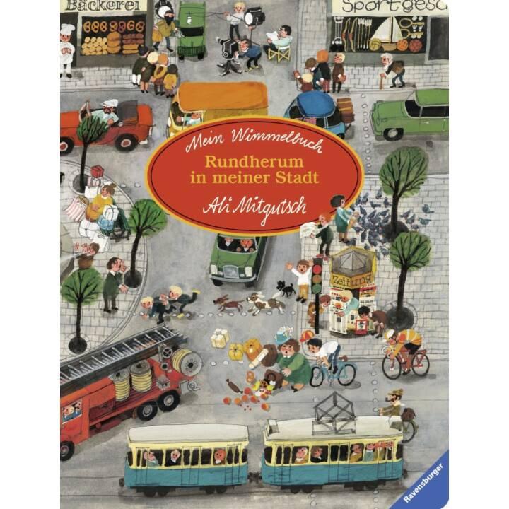 RAVENSBURGER Libro a oggetti nascosti in tutta la mia città