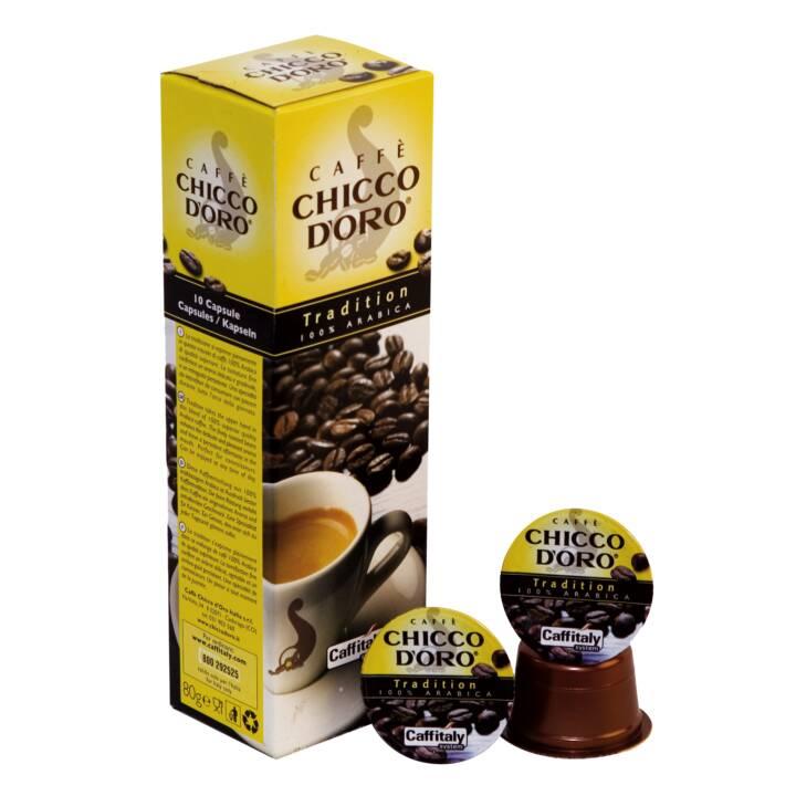 La tradizione del caffè CHICCO D'ORO