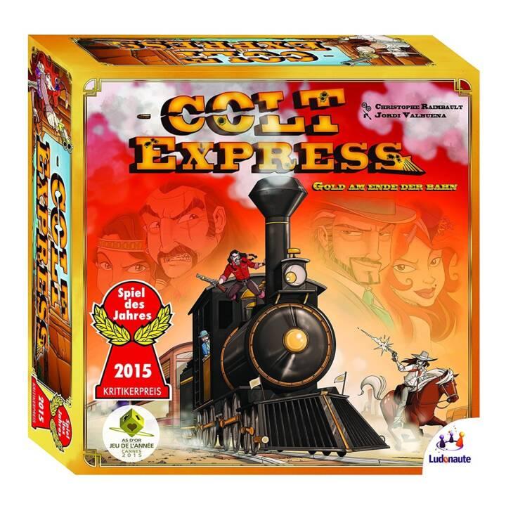 ASMODEE Colt Express Gold en fin de piste