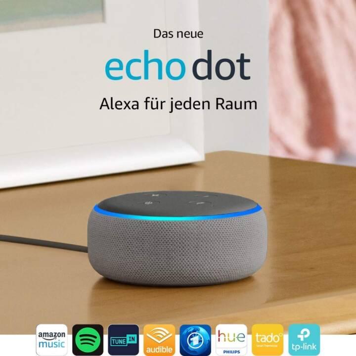 AMAZON Echo Dot, 3ème génération, Importation, Gris