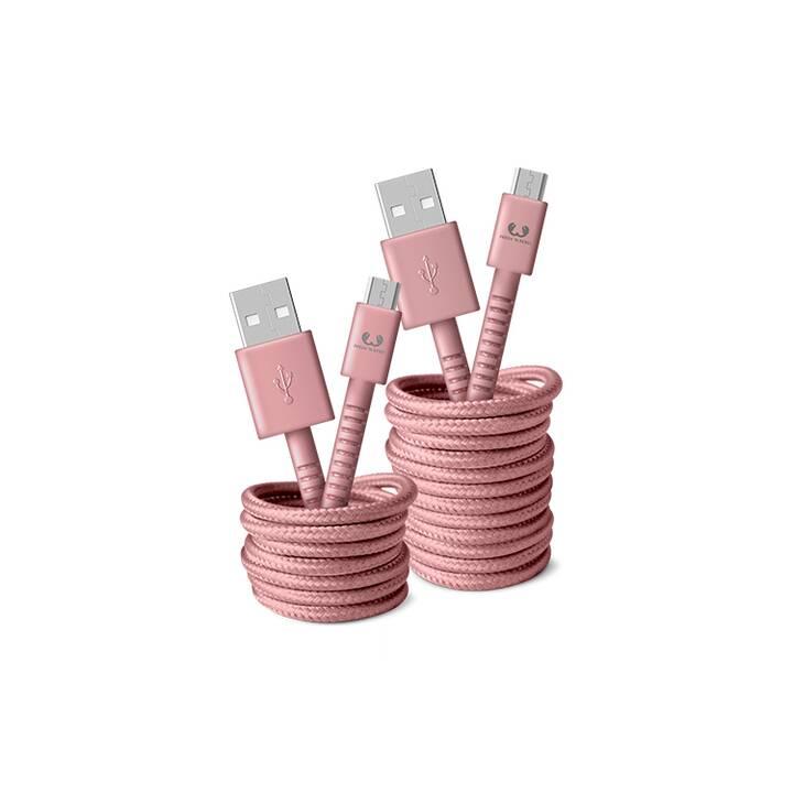 FRESH 'N REBEL 2UMC150DP Kabel (USB Typ-A, Micro USB Typ-A, 1.5 m)